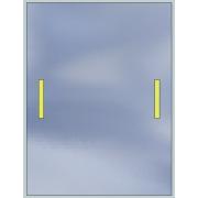 Lustro LED Standard 50x70 840lm 3000K