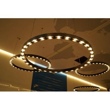Pierścień LED 130cm - lampa LED dla dużych inwestycji