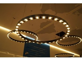 LED Ring 50 Black Matte