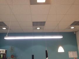 LineaLED 1m zmienna barwa światła - grafit