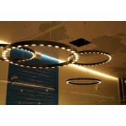 LED Ring 130 Black Matte