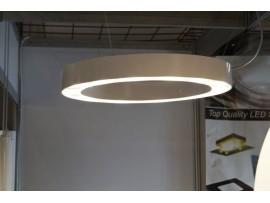 LED Ring lamp 50cm White Gloss
