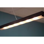 Linear PowerLED light bar lamp 1m Black mat
