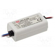 LED Power supply Mean Well APC-8-500 8W